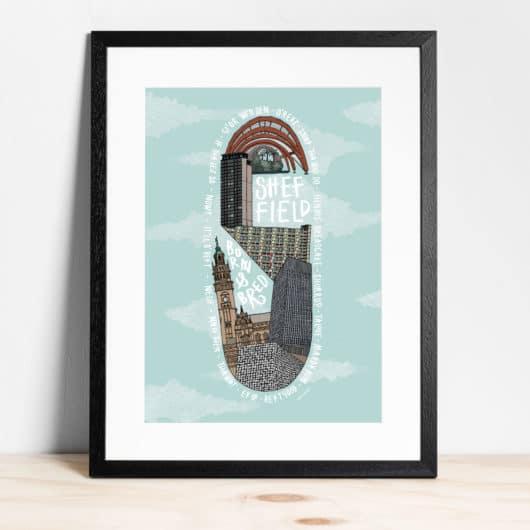 Sheffield S print