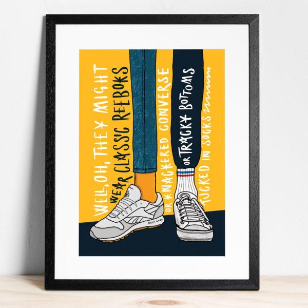 Certain Romance Framed print